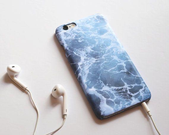 Océano iPhone 6 plus caso azul de la onda embre por IsolateCase
