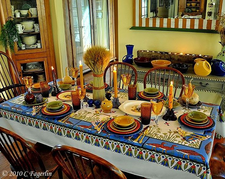 17 Best Images About Fiesta Tablescapes On Pinterest