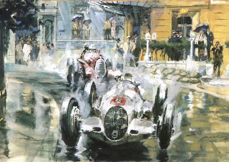 Tazio Nuvolari Grand Prix de Monaco