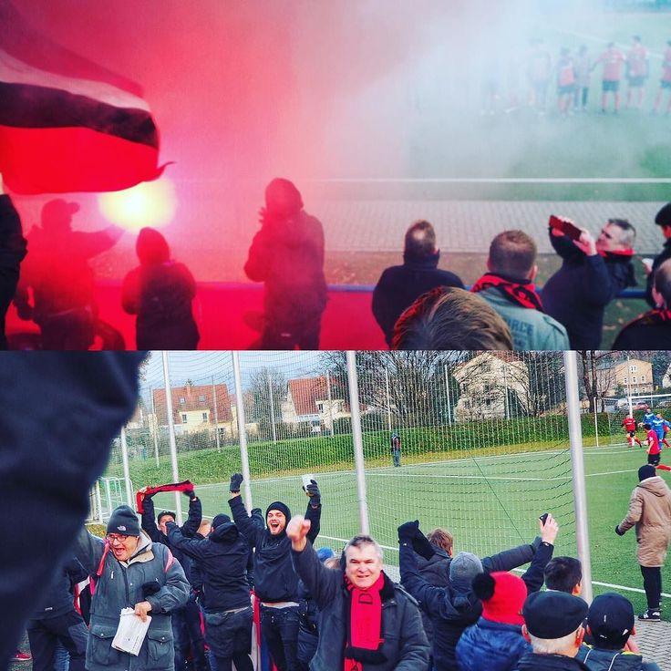 FV Blau Weiß Zschachwitz-  Dresdner SC 2:3 (2:1) #dresdnersportclub #dsc #dresden #sachsen #fussball #pyrotechnik