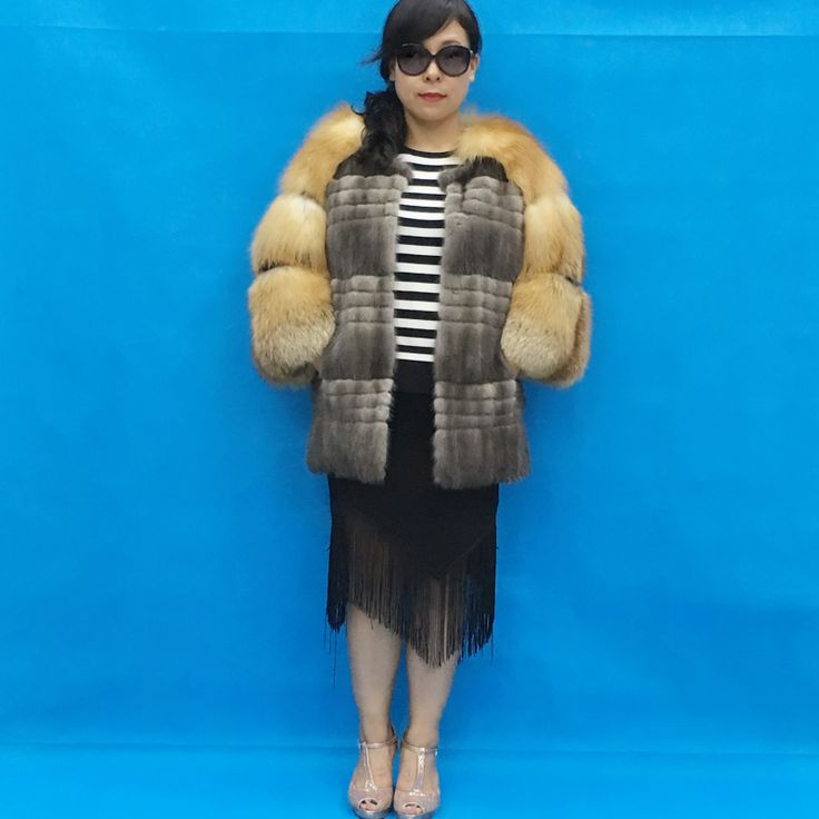>> Click to Buy << Long section of 70 cm long natural Ms. warm mink coat fox Price promotions shipping #Affiliate
