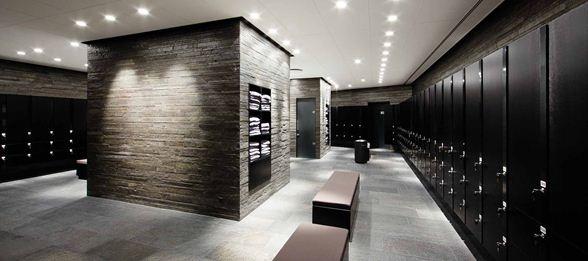 Interior of Scandinavian Golf Club by Henning Larsen Architects.