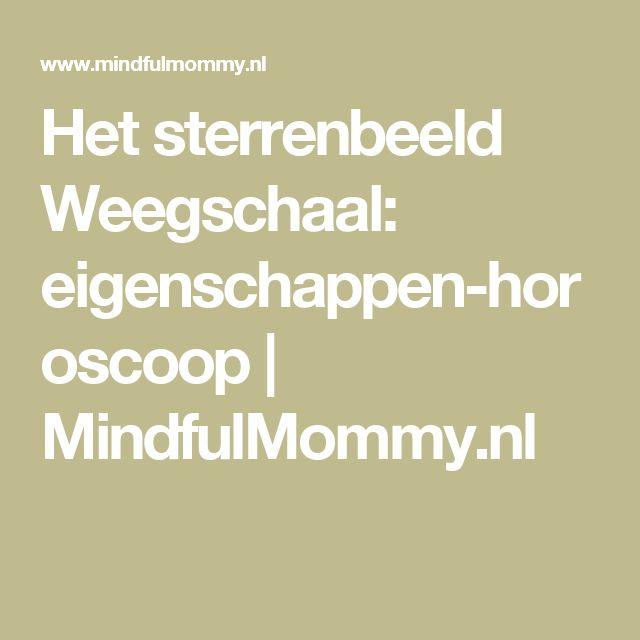 Het sterrenbeeld Weegschaal: eigenschappen-horoscoop | MindfulMommy.nl