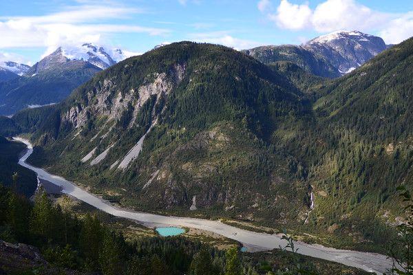 Tiny Turquoise Lake - Salmon Glacier, Hyder, Alaska - Francesc Nolla, Agama Viatges