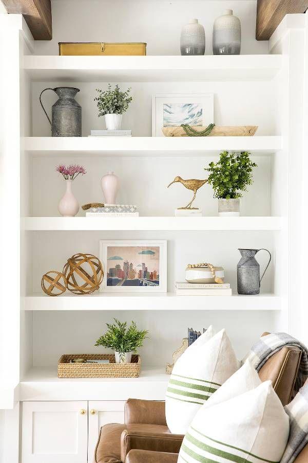 Shelf Styling Inspiration Shelf Decor Living Room Bookcase Decor Living Room Shelves