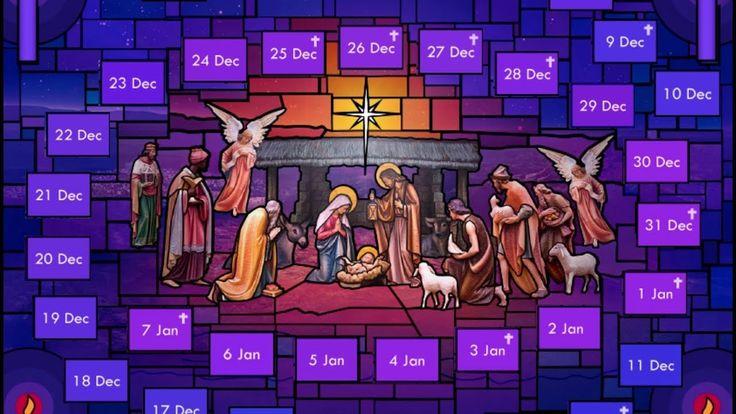 Un calendario de Adviento virtual para preparar la Navidad 2.0