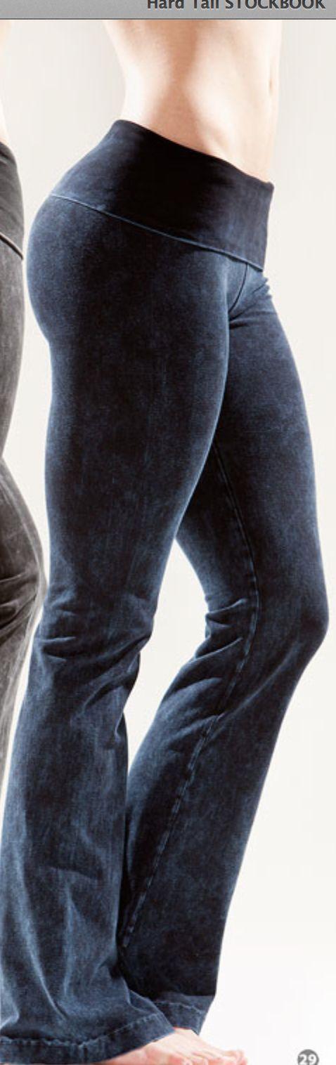 These pants look just like denim!