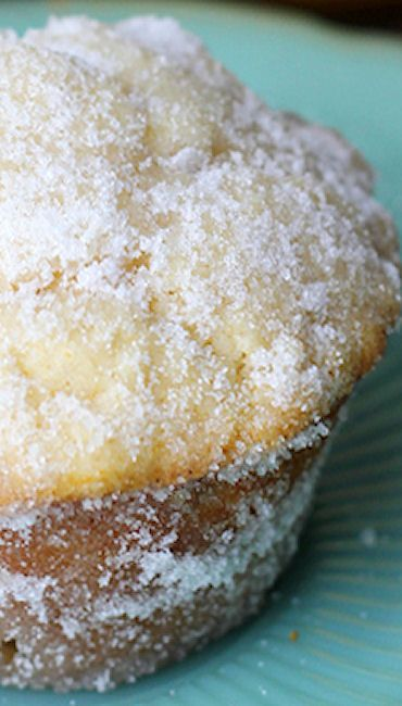 Lemon Donut Muffins Recipe