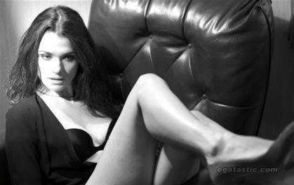 Rachel Weisz Is Art In Black & White