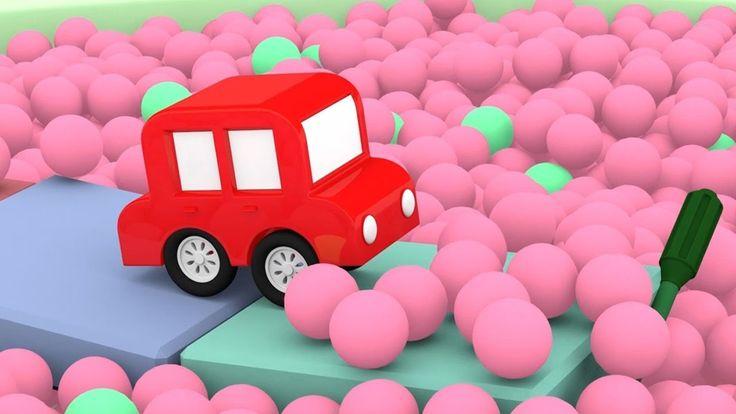 Le macchinine colorate ed il carro armato! | cartoni animati per bambini