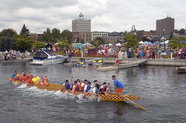 Barrie Dragonboat Races | by LaurentianU, via Flickr