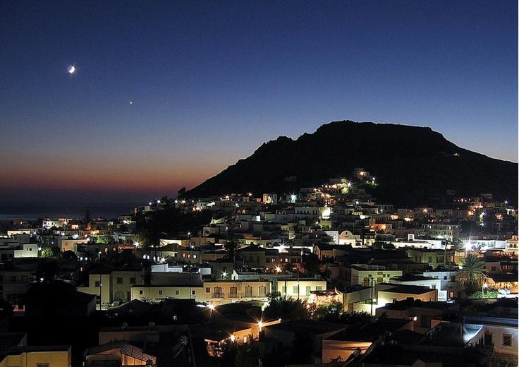 Nightfall, Rhodes (Greece)