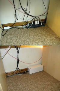CableBox by Bluelounge - I need this to nicely hide all those dang power strips I have to use since our outlets are so few & far between...
