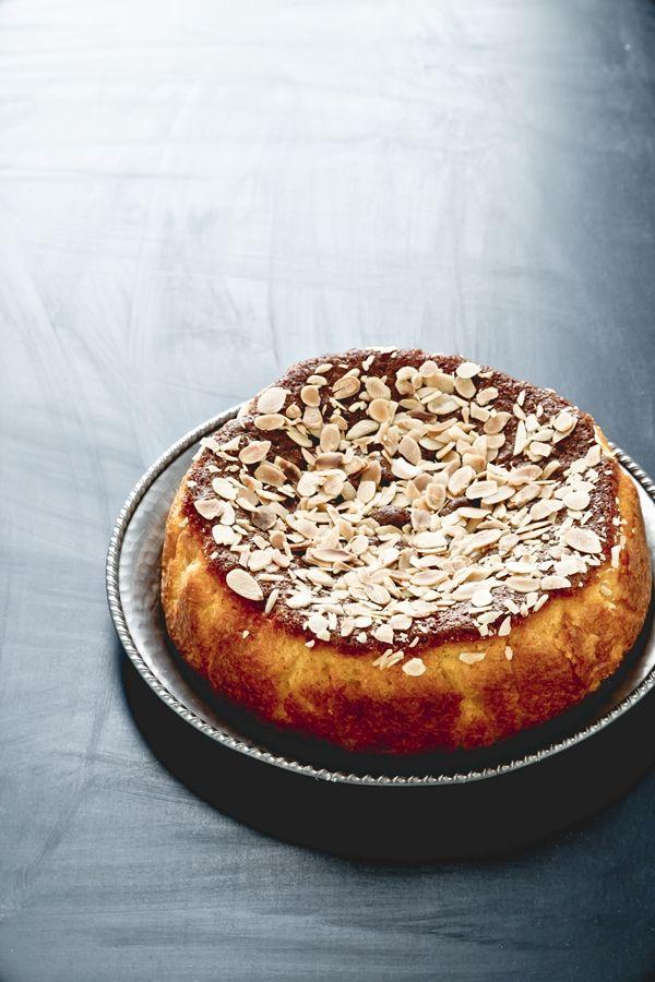 Almond, corn flour and orange cake - torta di mais alle arance e mandorle