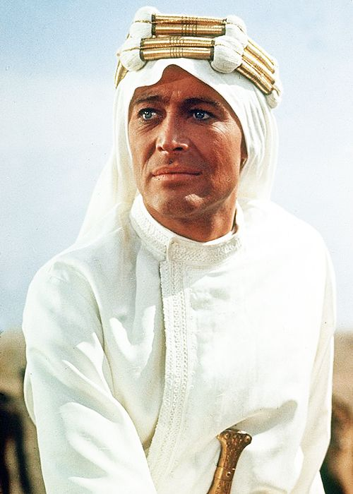"""Noel Coward said, """"If you were any better looking you would be Florence of Arabia."""" / Peter O'Toole"""