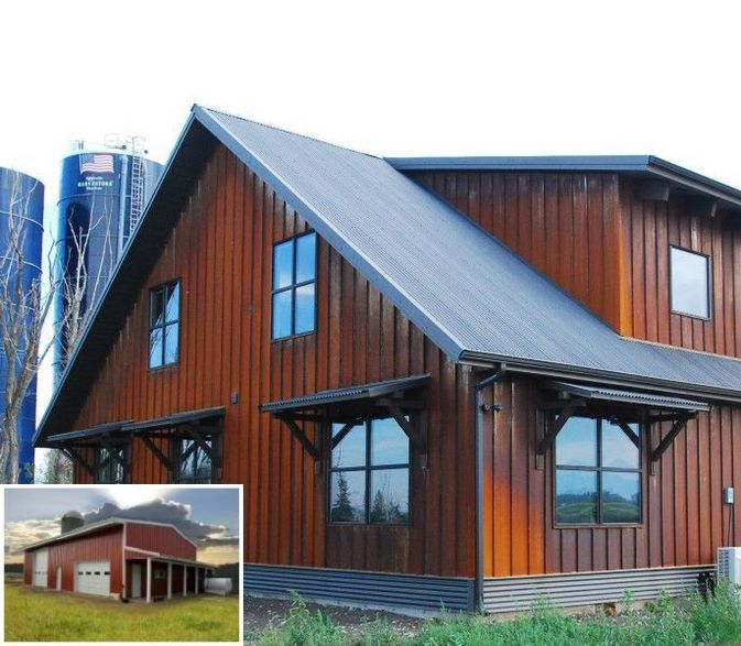 Metal Building Homes Ranch Style Great Pics Metalbuildingscolors Steel Building Homes Metal Siding House Metal Buildings