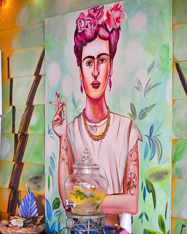 . The weekend is almost here  Come see  Frida for  FajitaFriday