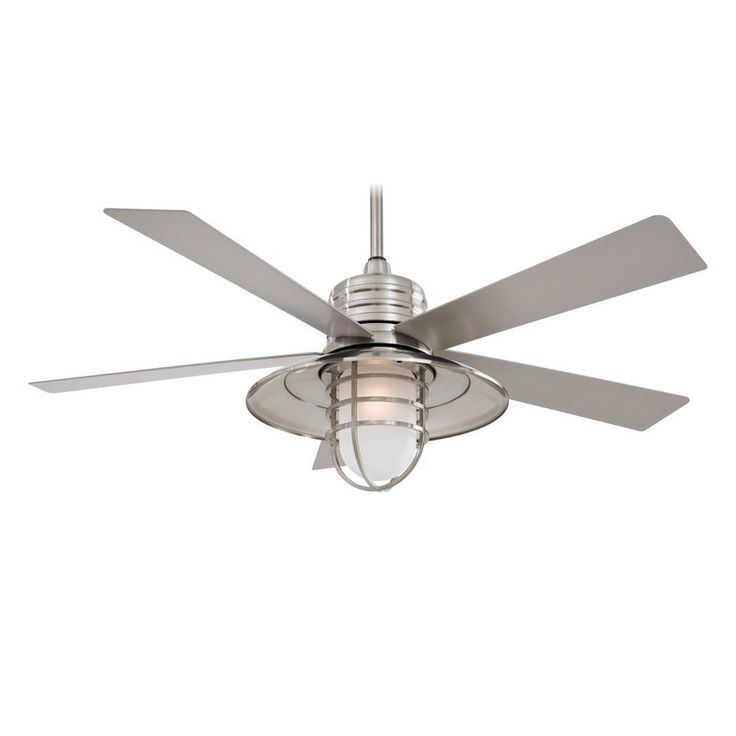 "View the MinkaAire Rainman 5 Blade 54"" Rainman Indoor / Outdoor Ceiling Fan - Light, Wall Control, and Blades Included at LightingDirect.com."