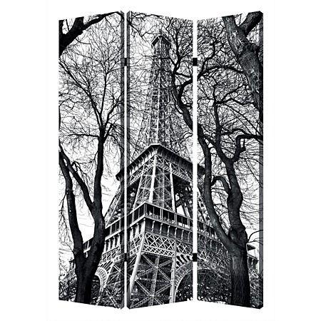 Solano Folding Screen Eiffel Tower