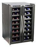 Whynter - 32-Bottle Wine Cooler - Black, WC-321DD