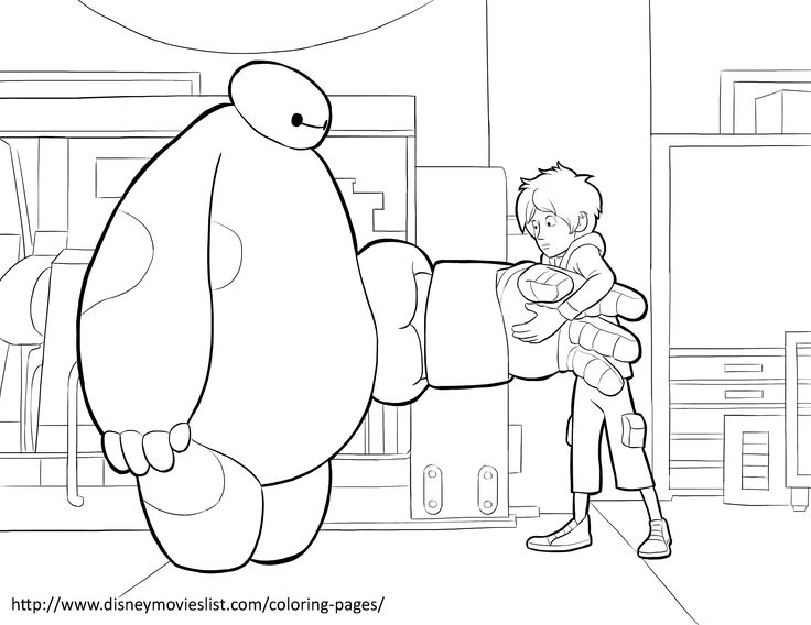 We Have Big Hero 6 Coloring Pages Print And Your Favorite Scenes Characters From