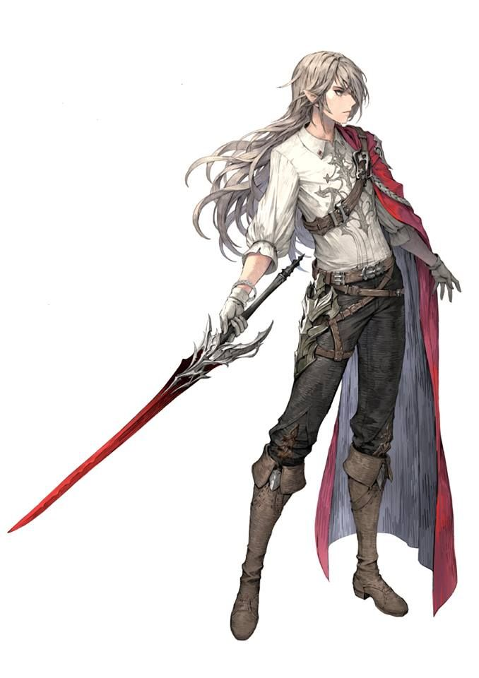 illustration おしゃれまとめの人気アイデア pinterest tomas luna 剣士 イラスト 男性 キャラクターデザイン グラブル イラスト