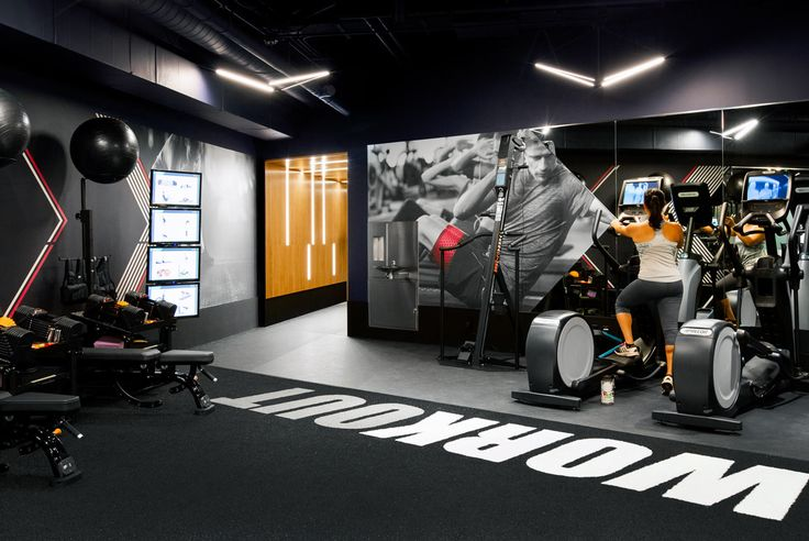 A Modern Gym In Seattle You D Actually Like To Workout In Gym Design Gym Interior Home Gym Design