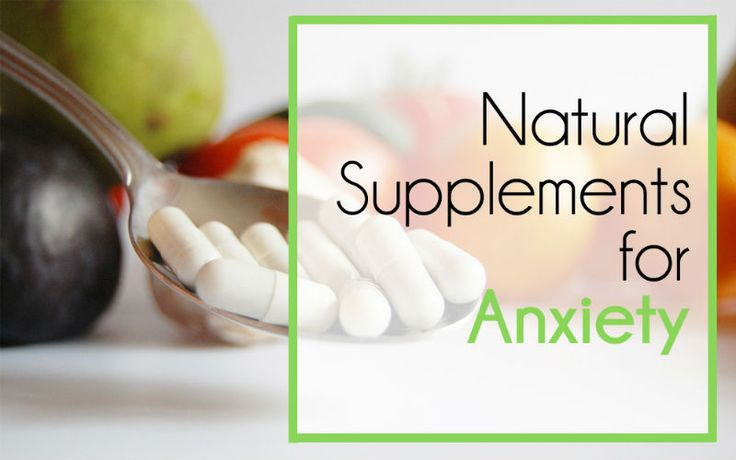 Natural supplements are often over looked as a first course of treatment for anxiety. They are absolutely one of the first things you should reach for!