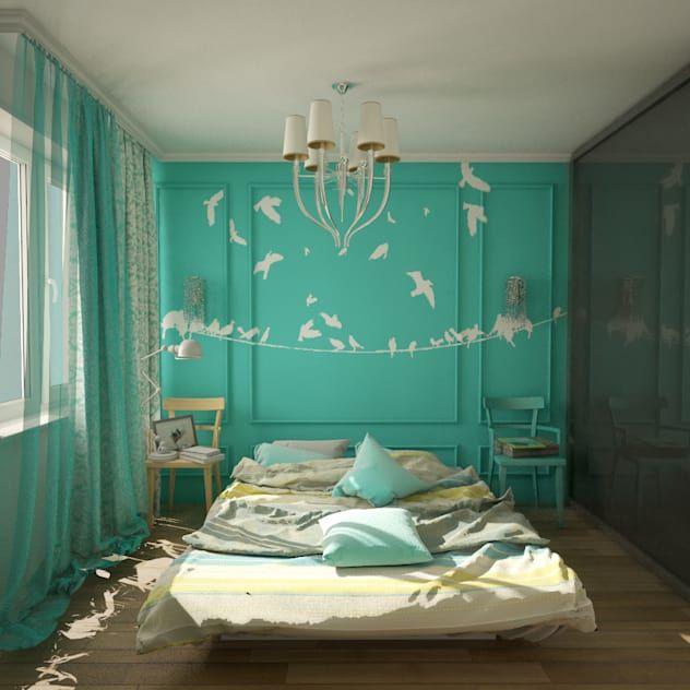 Bir Ic Mimarin Paranizi Almadan Size Asla Soylemeyecegi 6 Dekorasyon Sirri Homify Feature Wall Bedroom Eclectic Bedroom Eclectic Design