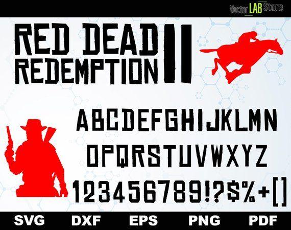 Image 0 Lettering Fonts Red Dead Redemption Fonts Alphabet