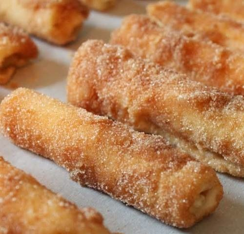 Cinnamon roll-ups with cream cheese- Christmas morning breakfast