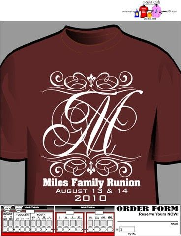 custom family reunion designs - Family Reunion T Shirt Design Ideas