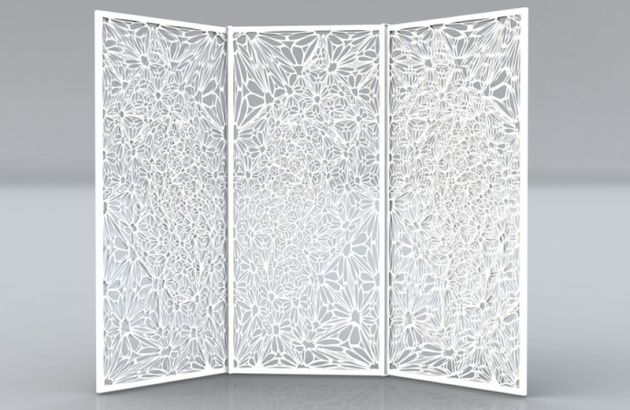petal screen room divider | paravans | pinterest