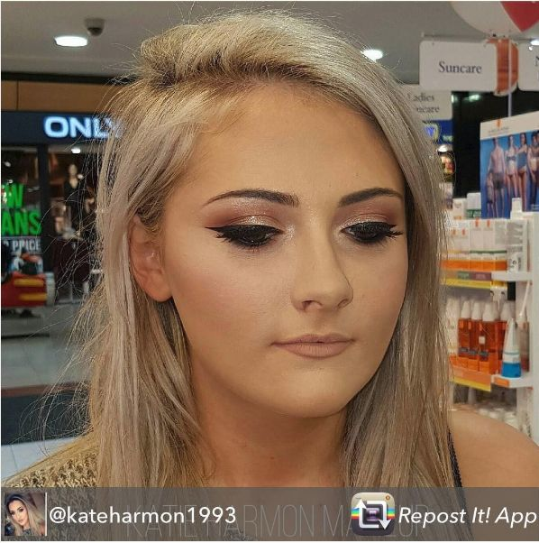 Makeover by Katie, who's the Stila MUA in our Fairgreen S.C. Carlow Store - using all Stila products