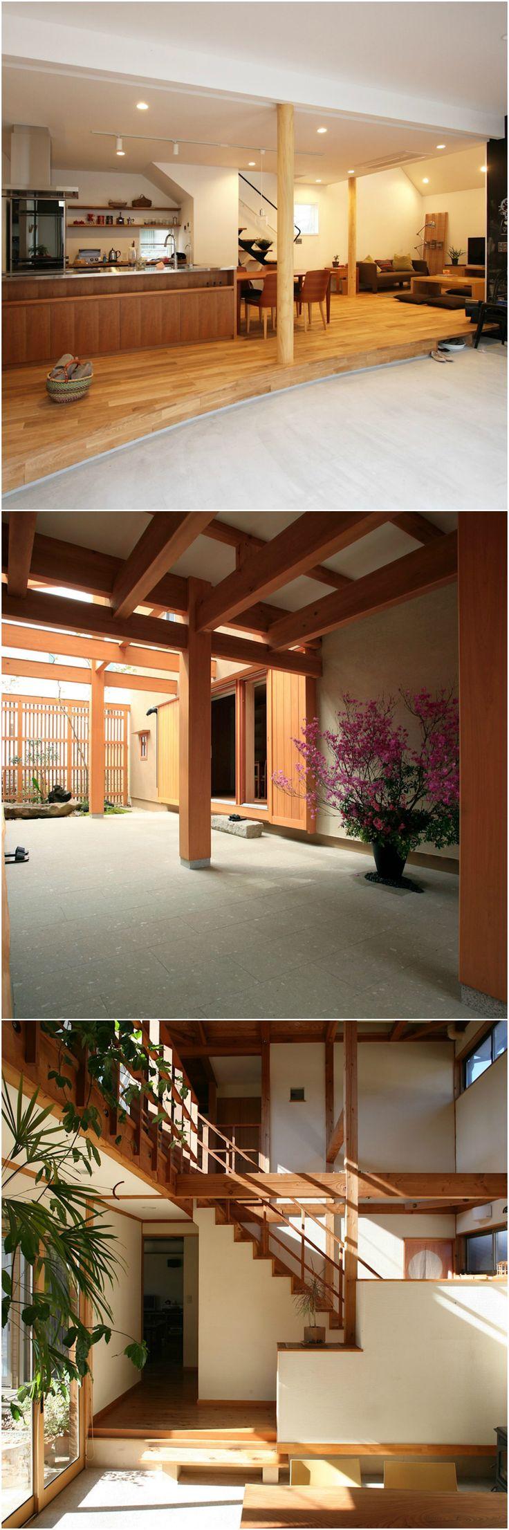 「土間が魅力の家5軒!」日本の、昔ながらの家にある土間。住まいや生活習慣が西洋化するにつれ、土間は住居から姿を消していきました。しかし最近になって、土間の魅力が見直され、家に土間を取り入れられる方が多くなりました。それではその土間の魅力とはどのようなものでしょうか?今回の記事では、モダンな家に取り入れられる、現代の土間の魅力をご紹介したいと思います。