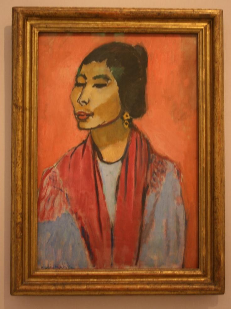 """Jaoquine"", Henri Matisse; Trade Fair Palace, Prague"