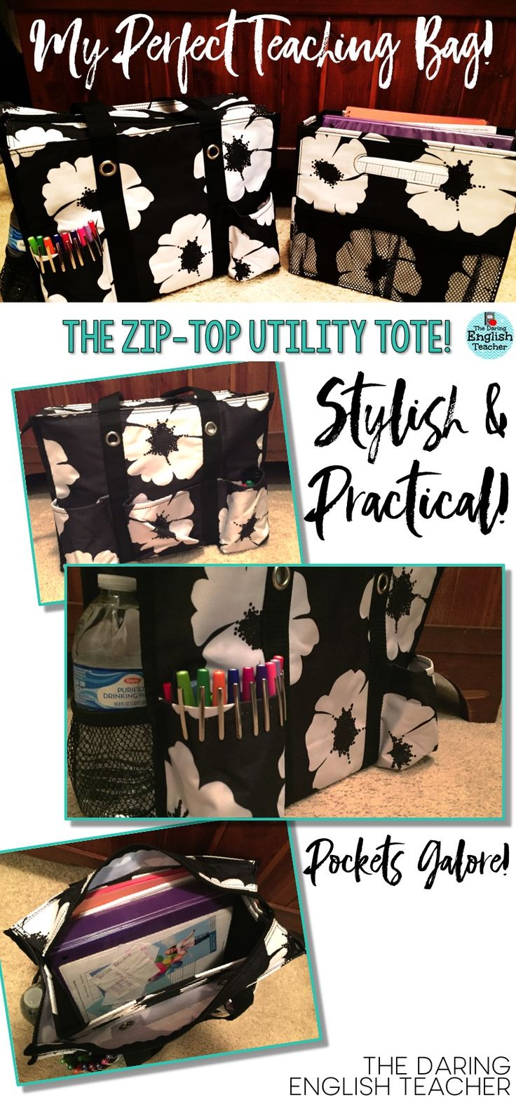 The best teacher bag ever! This bag is so helpful with storing all of my teacher stuff! Teacher style.