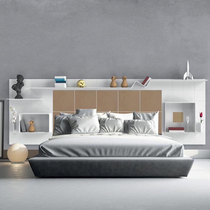 Gain de place: 10 têtes de lit avec rangements