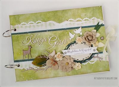 guestbook / wedding / forest