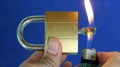 Mira lo Fácil que se pueden abrir los candados de Seguridad y tu Realmente ni lo Sabías!!