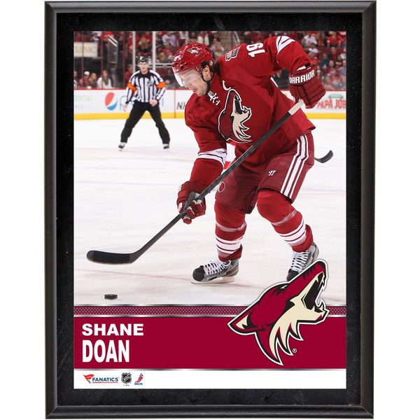 "Shane Doan Arizona Coyotes Fanatics Authentic 10.5"" x 13"" Sublimated Plaque - $29.99"