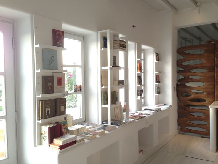 Santorini's renowned Atlantis Books at the Belvedere Mykonos this summer