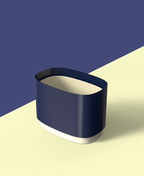 The Contrast is a minimalist design created by Korea-based designer WV Design Studio. The Contrast is a container where you keep your favorites. Designed to wrap the powder-coated steel plates, the Contrast's ultimate focus is to emphasize stark contrast between light and shade. And the stark contrast makes perfect harmony in the container. (1)