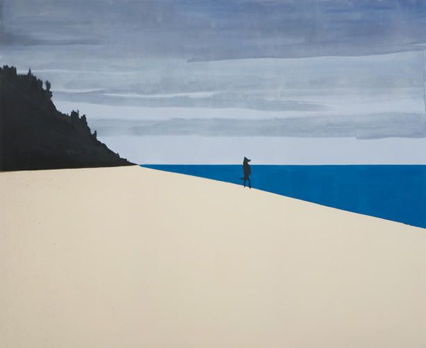 WILHELM SASNAL Untitled, 2011 Oil on canvas 70 7/8 x 86 5/8 inches Courtesy Anton Kern Gallery, New York