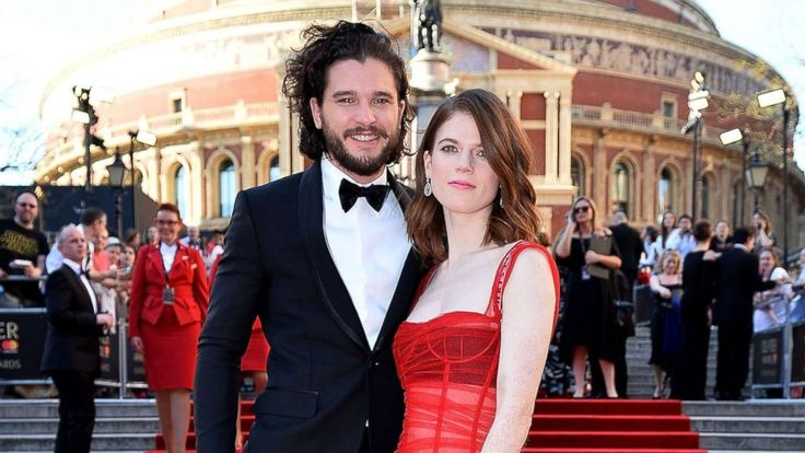 [NO SPOILERS] Kit Harrington (Jon) and Rose Leslie (Ygritte) are officially engaged