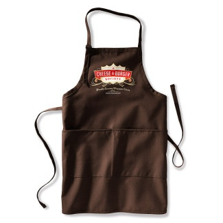 Cheese & Burger Society apron! (Buy it here.)Burgers Society, Chees Burgers, Burgers Burgers