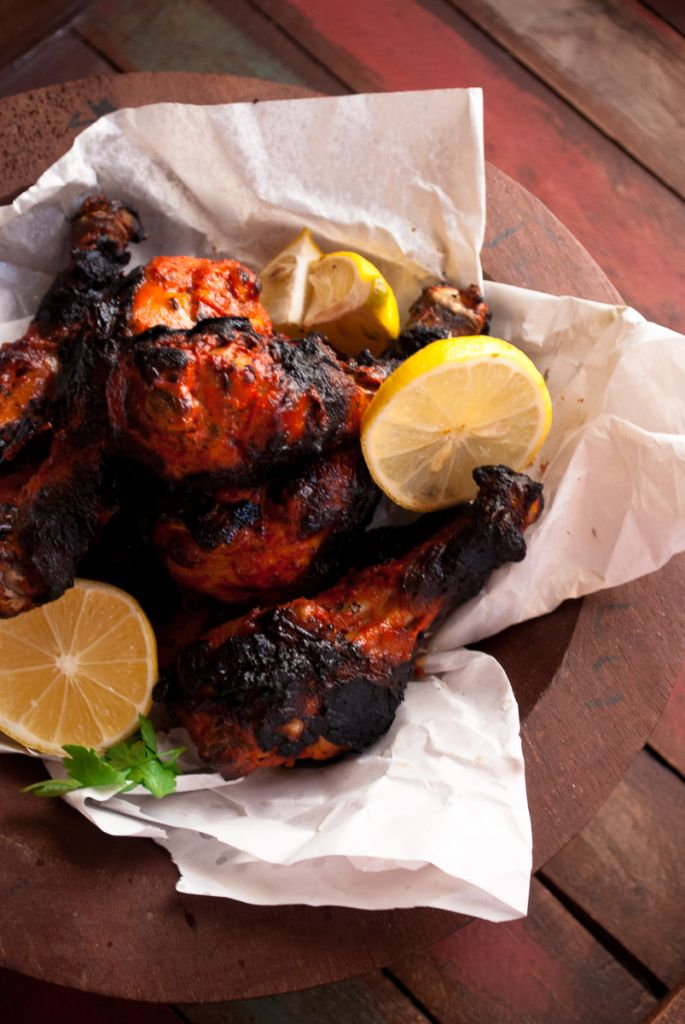 Spicy Tandoori Chicken, Indian Mexican Fusion. THE perfect tailgating recipe! | whitbitskitchen.com | @elyucateco  #KingofFlavor #ad