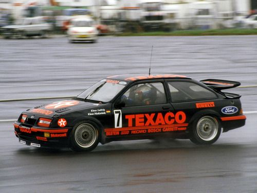 Ford Sierra RS500 Cosworth race car