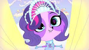 Zoe dressed like a princess