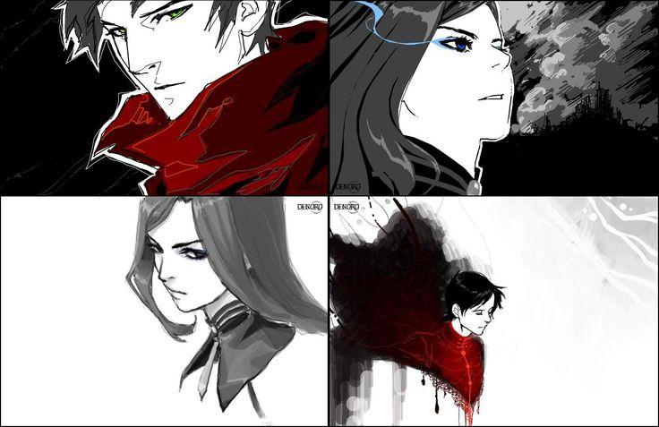 Amazing Ergo Proxy art..